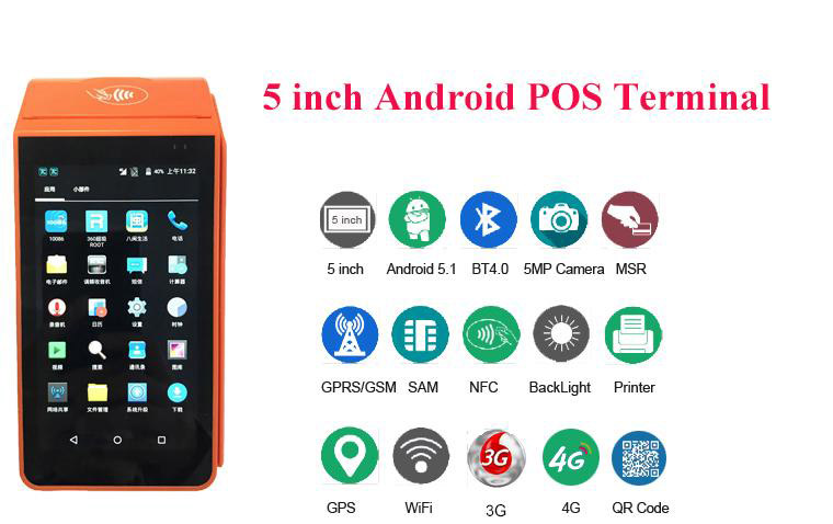 smart Android POS terminal